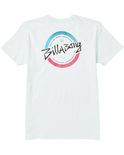 1 Boys' Eighty Six Tee Shirt Blue B401SBEI Billabong