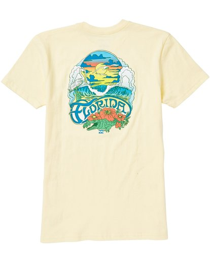 1 SUNSHINE STATE Yellow B401SBSS Billabong