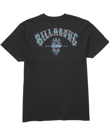 1 Boys' Archfire Tee Black B404TBAR Billabong