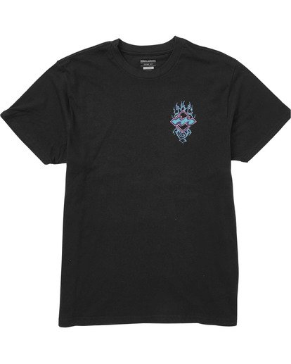 0 Boys' Archfire Tee Black B404TBAR Billabong