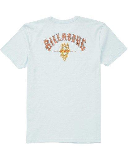 1 Boys' Archfire Tee Blue B404TBAR Billabong