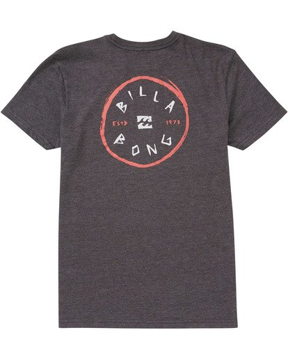 1 Boys' Rotohand Tee Black B404TBRH Billabong