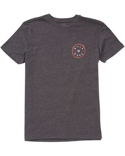 0 Boys' Rotohand Tee Black B404TBRH Billabong