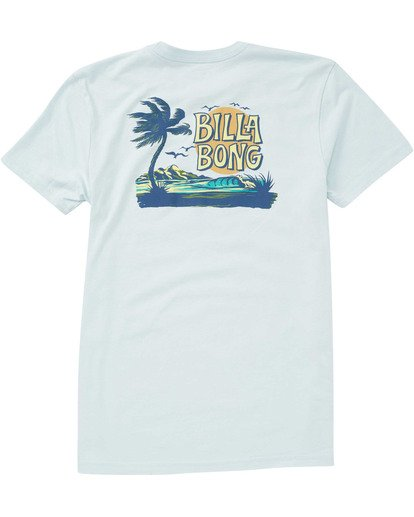 1 Boys' Tradewind Tee Blue B404TBTW Billabong
