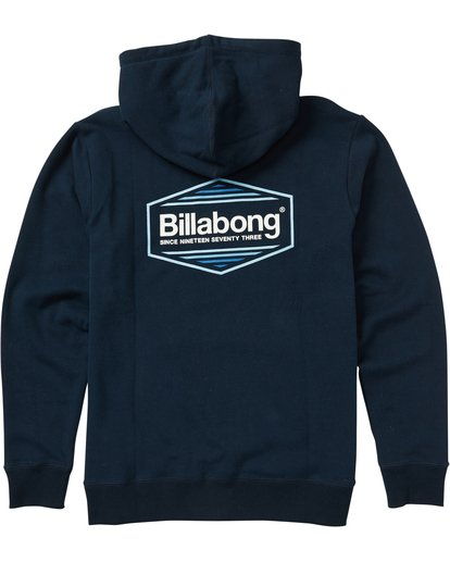 1 Boys' Pacific Pullover Hoody Graphic Hoodie Blue B640SBPP Billabong