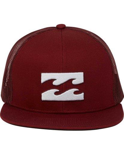 1 Boys' All Day Trucker Hat Brown BAHWNBAD Billabong