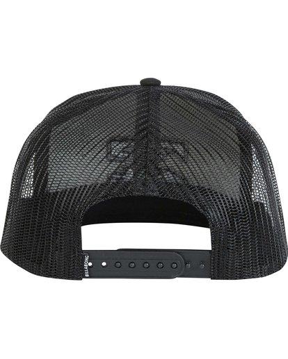 3 Boys' All Day Trucker Hat Grey BAHWNBAD Billabong
