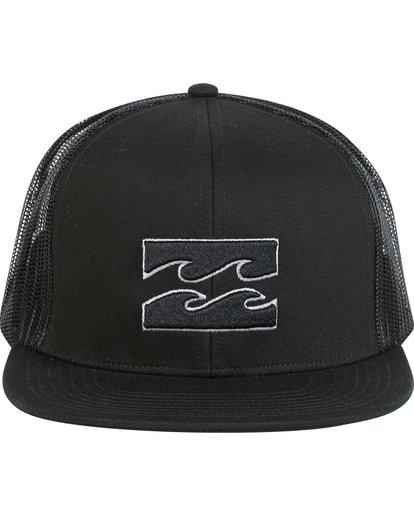 1 Boys' All Day Trucker Hat Grey BAHWNBAD Billabong