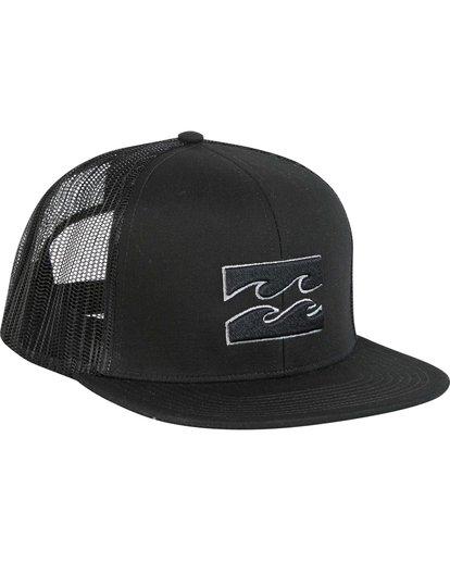 2 Boys' All Day Trucker Hat Grey BAHWNBAD Billabong
