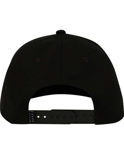 3 Boys' Re Issue Snapback Hat Black BAHWNBRE Billabong