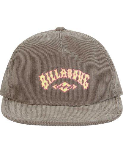 1 Boys' Corduroy Hat Grey BAHWQBRE Billabong