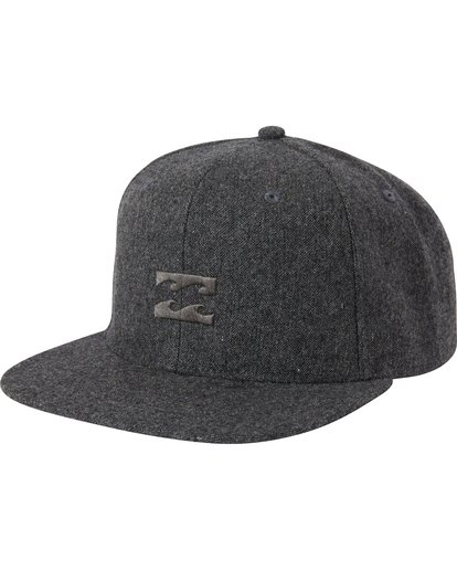 0 Boys' All Day Heather Snap Back Hat  BAHWSBAH Billabong