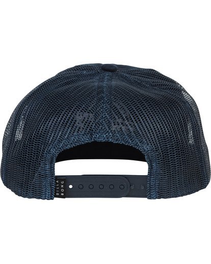 3 Boys' Breakdown Trucker Hat Blue BAHWSBBR Billabong