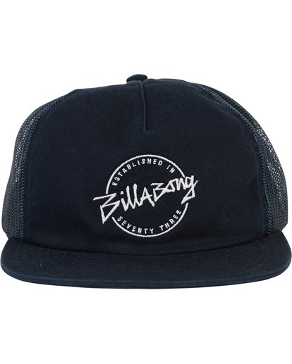 1 Boys' Breakdown Trucker Hat Blue BAHWSBBR Billabong