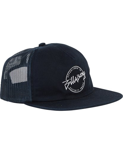 2 Boys' Breakdown Trucker Hat Blue BAHWSBBR Billabong