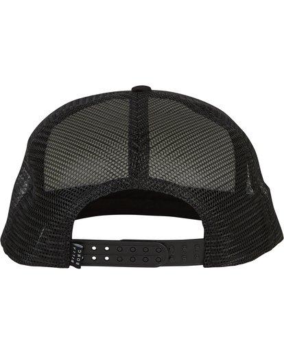 3 Boys' Upgrade Trucker Hat Black BAHWSBUP Billabong