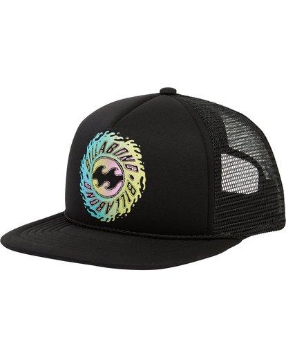 0 Boys' Upgrade Trucker Hat Black BAHWSBUP Billabong