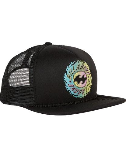 2 Boys' Upgrade Trucker Hat Black BAHWSBUP Billabong