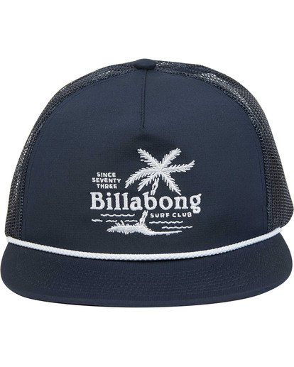 1 Boys' Alliance Trucker Hat Blue BAHWTBAL Billabong