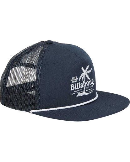 2 Boys' Alliance Trucker Hat Blue BAHWTBAL Billabong