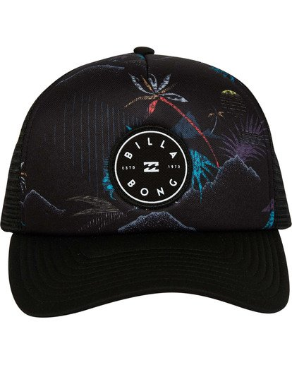 1 Boys' Scope Trucker Hat Black BAHWTBST Billabong