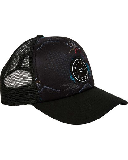 2 Boys' Scope Trucker Hat Black BAHWTBST Billabong