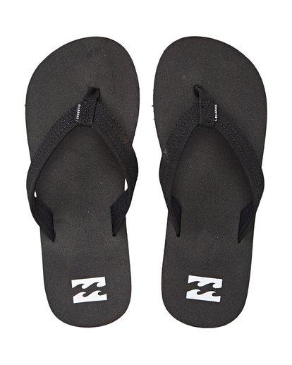 1 Boys' Stoked Sandals Black BFOTNBST Billabong
