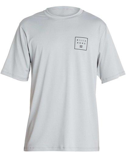 1 Boys' All Day Mesh Lf Short Sleeve Rashguard  BR04NBML Billabong