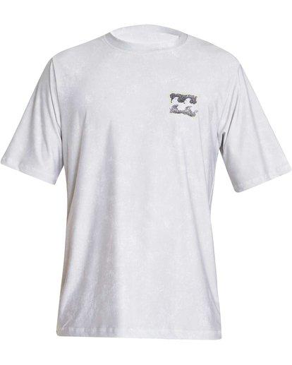 1 Boys' Riot Lf Short Sleeve Rashguard Grey BR05NBRL Billabong