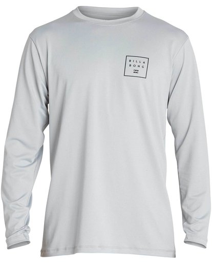 0 Boys' All Day Mesh Lf Ls Rashguard  BR53NBAM Billabong