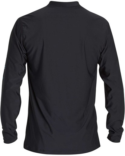 2 Boys' Unity Loose Fit Long Sleeve Rashguard Black BR55NBUL Billabong