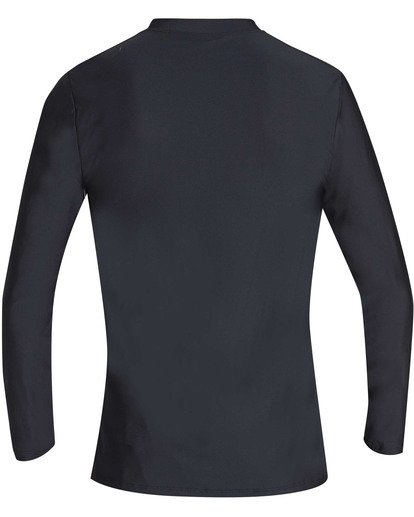 1 Boys' Unity Loose Fit Long Sleeve Rashguard Black BR55TBUL Billabong