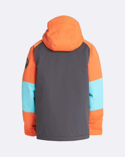 1 Boys' All Day Outerwear Jacket Orange BSNJQADI Billabong