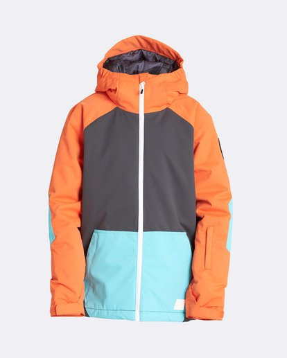 0 Boys' All Day Outerwear Jacket Orange BSNJQADI Billabong