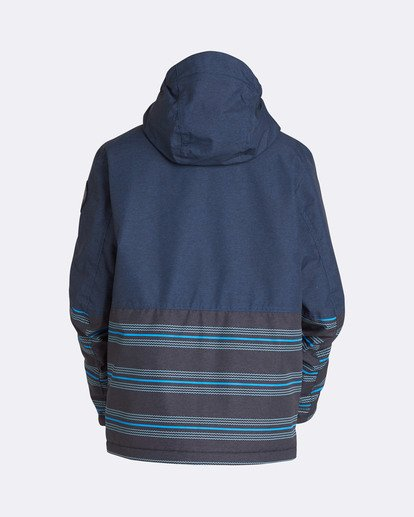 1 Boys' Fifty 50 Outerwear Jacket Blue BSNJQFIF Billabong