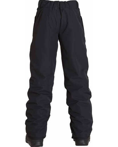 1 Boys' Grom Snow Pants Black BSNPLGRM Billabong