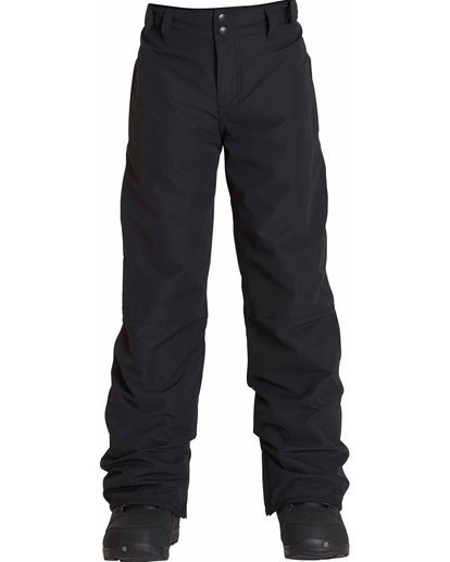 0 Boys' Grom Snow Pants Black BSNPLGRM Billabong