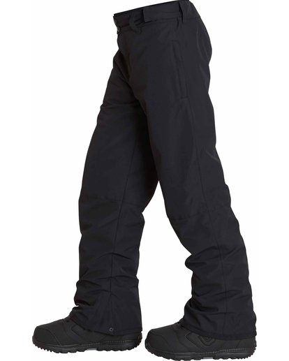 2 Boys' Grom Snow Pants Black BSNPLGRM Billabong