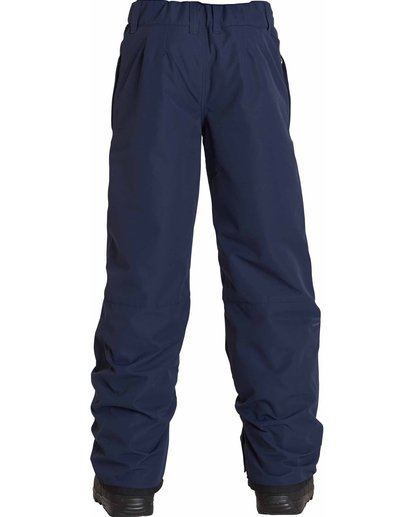 2 Boys' Grom Snow Pants Blue BSNPLGRM Billabong