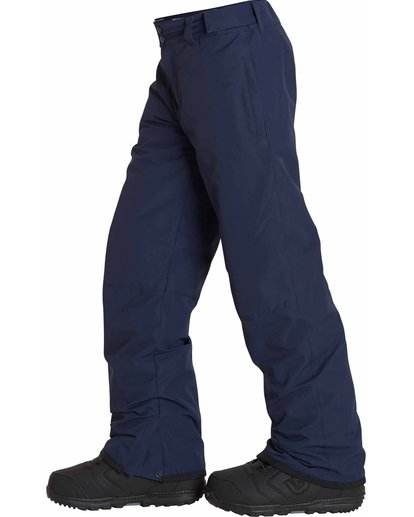 1 Boys' Grom Snow Pants Blue BSNPLGRM Billabong