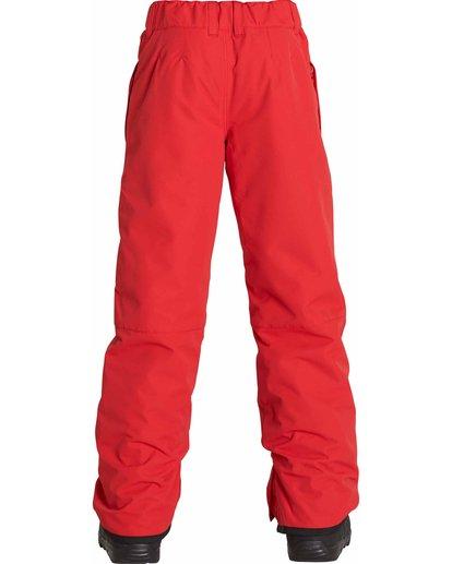 1 Boys' Grom Snow Pants Red BSNPLGRM Billabong