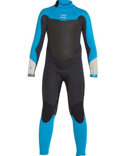 1 Boys' 3/2 Absolute Comp Back Zip Fullsuit Black BWFULAB3 Billabong