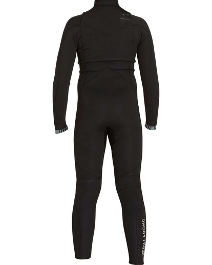 1 Boys' 3/2 Absolute Comp Chest Zip Fullsuit Black BWFULAC3 Billabong