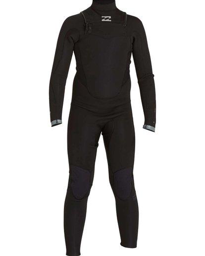 0 Boys' 3/2 Absolute Comp Chest Zip Fullsuit Black BWFULAC3 Billabong