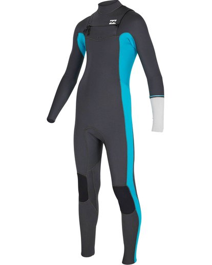 2 Boys' 3/2 Revolution Ltd Fullsuit Blue BWFUNBD3 Billabong