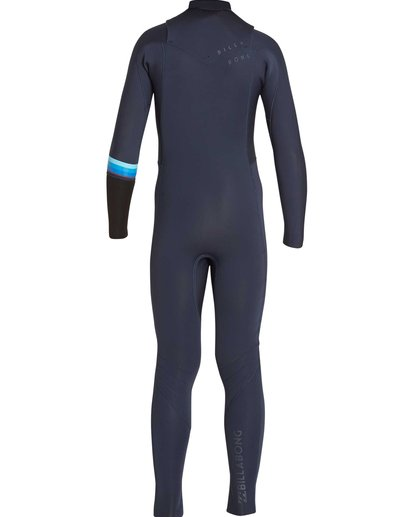 1 Boys' 4/3 Revolution DBah Chest Zip Fullsuit  BWFUNBR4 Billabong