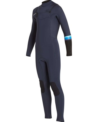 2 Boys' 4/3 Revolution DBah Chest Zip Fullsuit  BWFUNBR4 Billabong