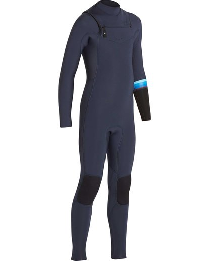 3 Boys' 4/3 Revolution DBah Chest Zip Fullsuit  BWFUNBR4 Billabong