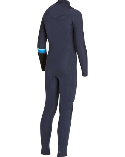 4 Boys' 4/3 Revolution DBah Chest Zip Fullsuit  BWFUNBR4 Billabong
