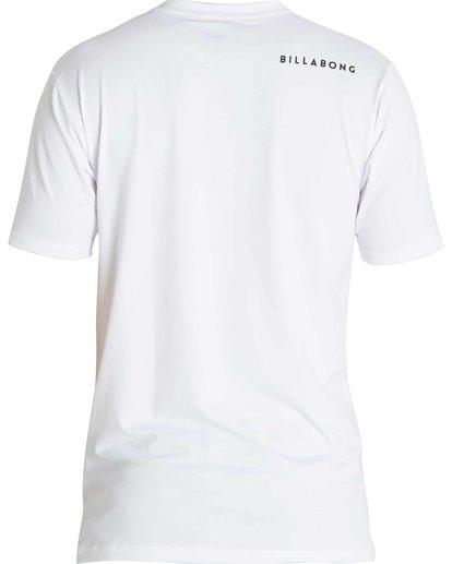 1 Boys All Day Mesh Short Sleeve Rashguard White BWLYJSBS Billabong